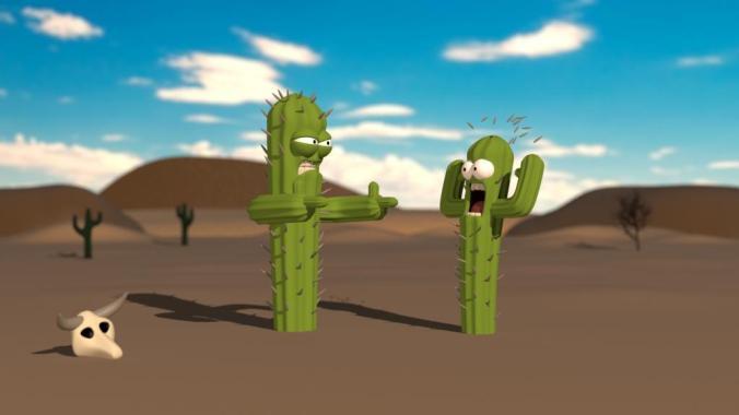 goshdarned cactus
